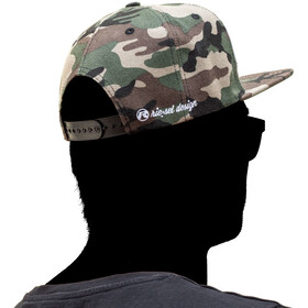 Riesel Design the cro:wn Snapback Cap camo II